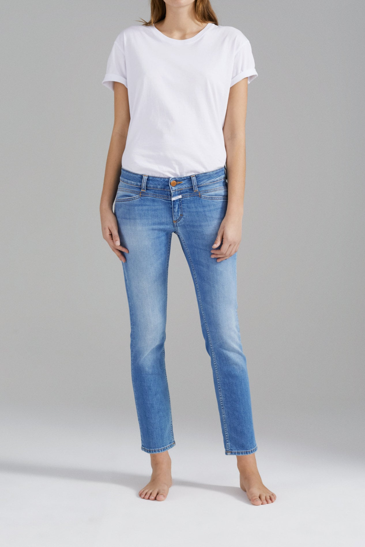 jeans hosen damen closed