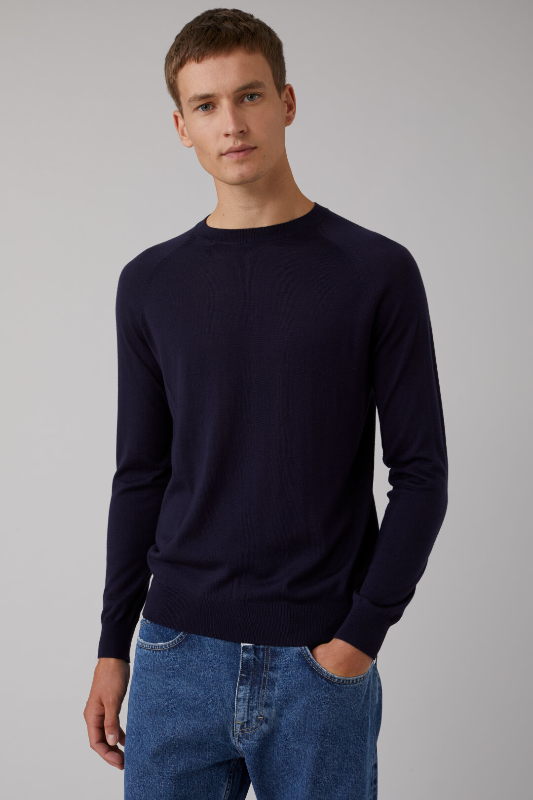 Merino Raglan Sweater