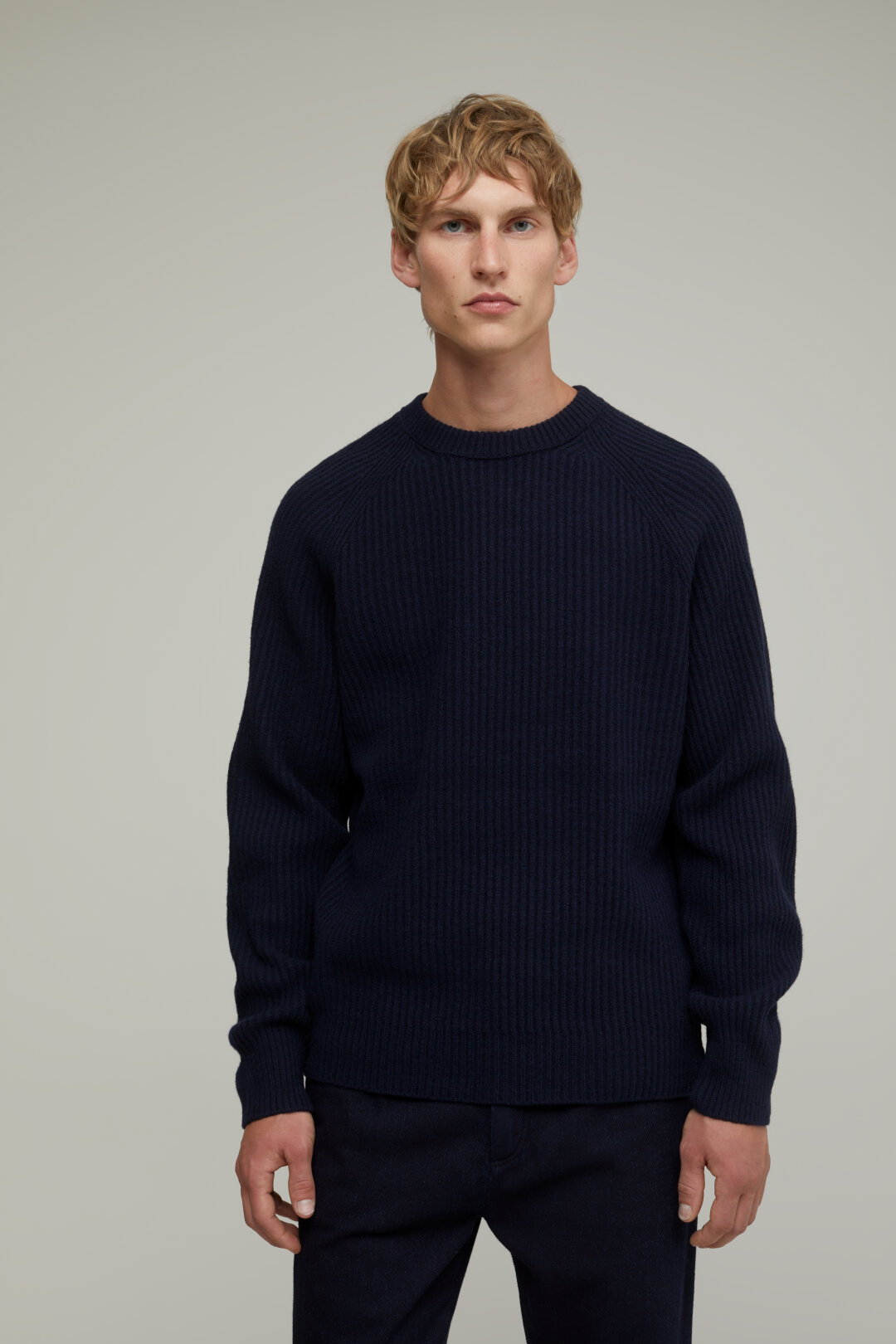 Raglan Wool Sweater