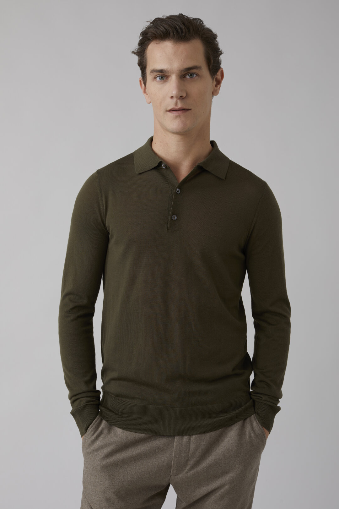 Merino Wool Fine Knit Sweater