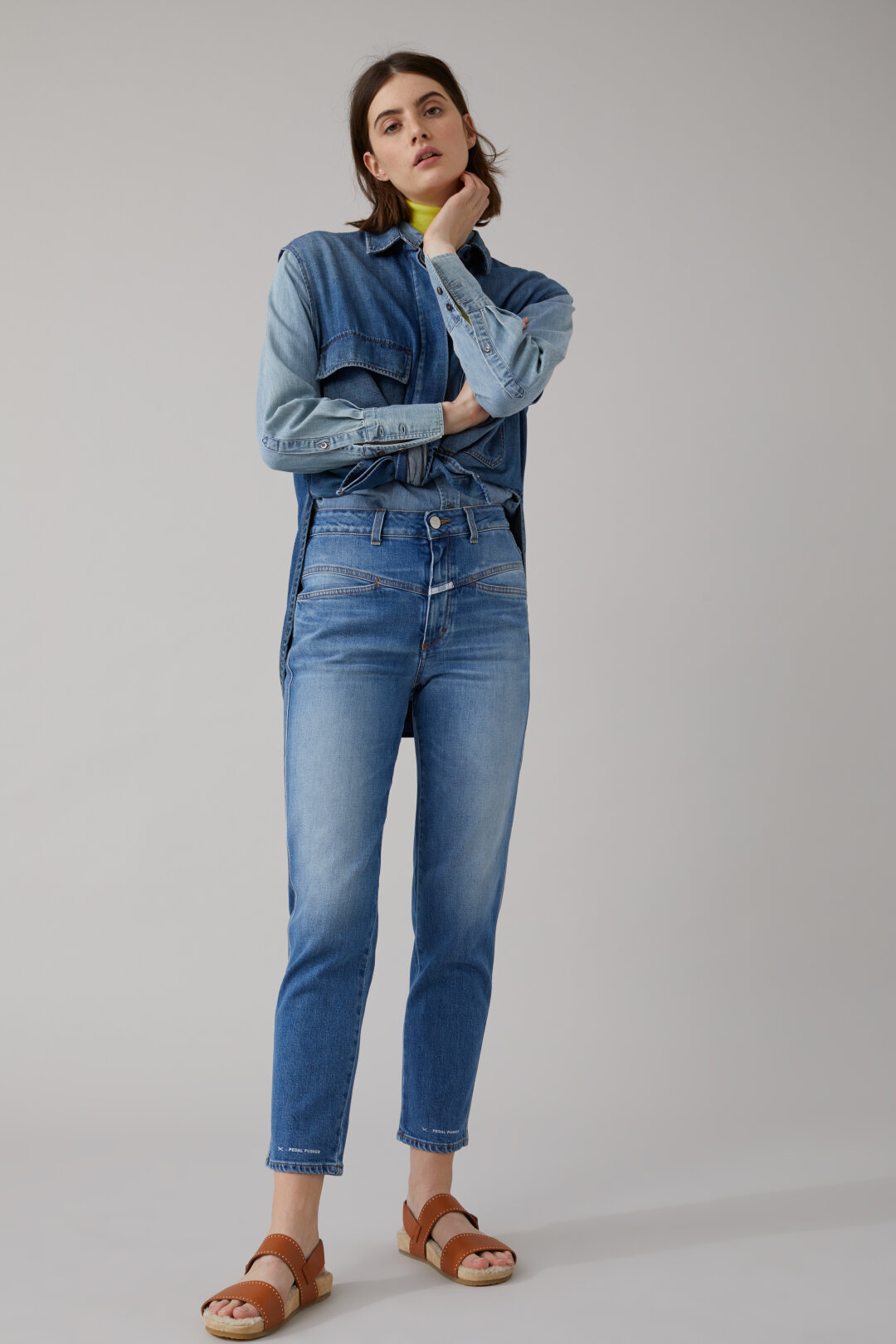 Veste en jean femme zara 2017
