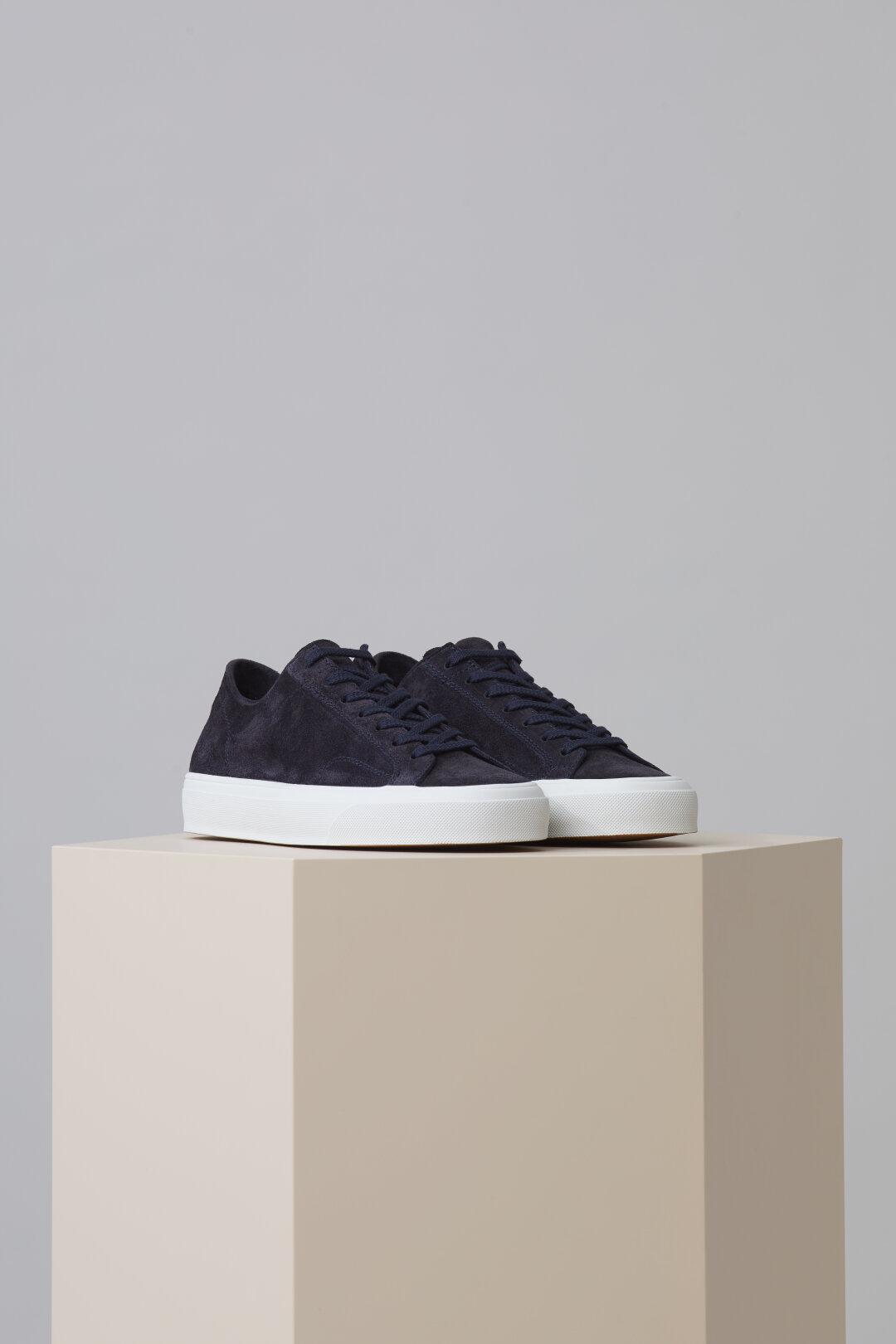 Sneaker en velours