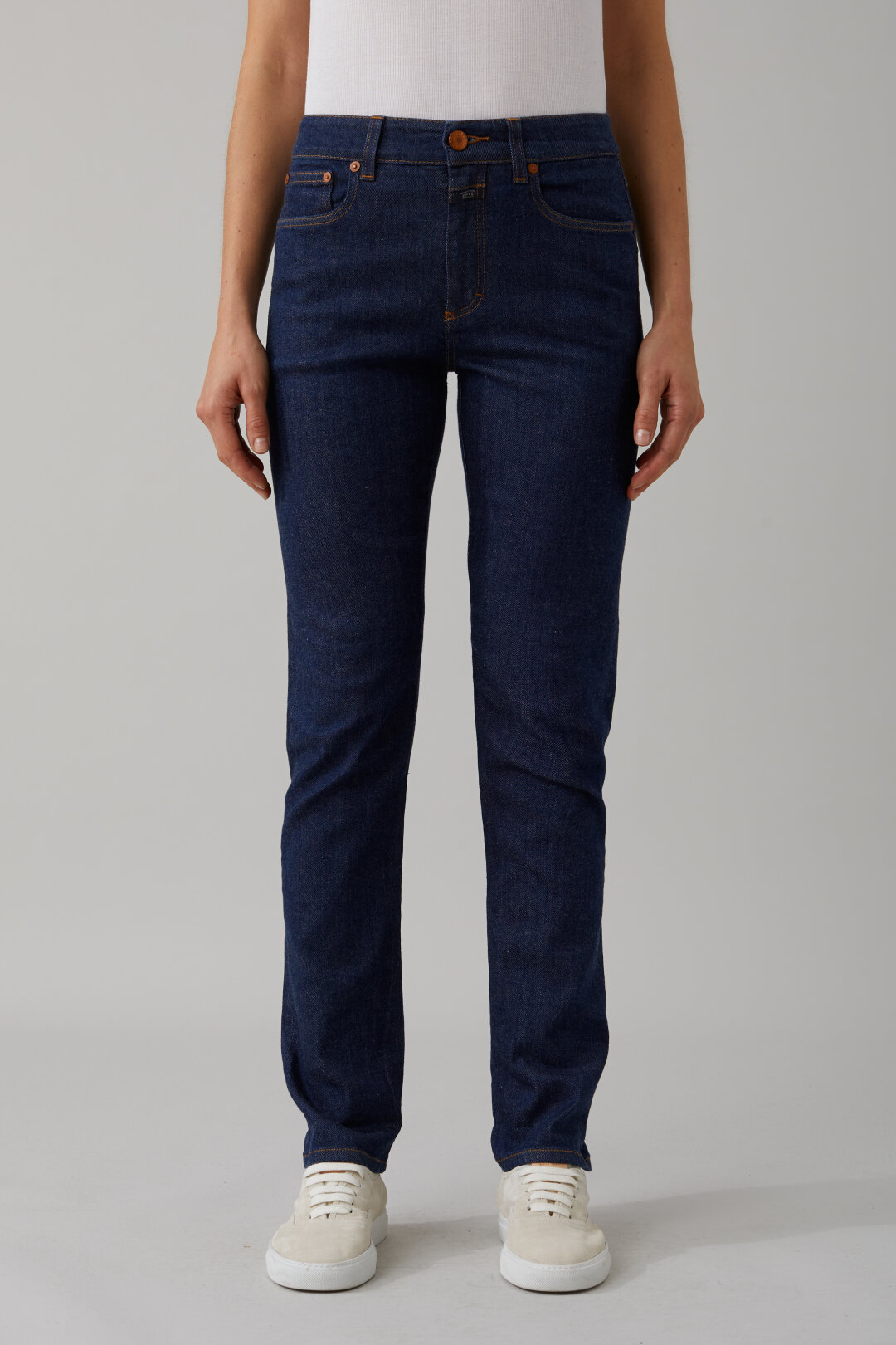 Britney Blue Super Stretch Selvedge Denim