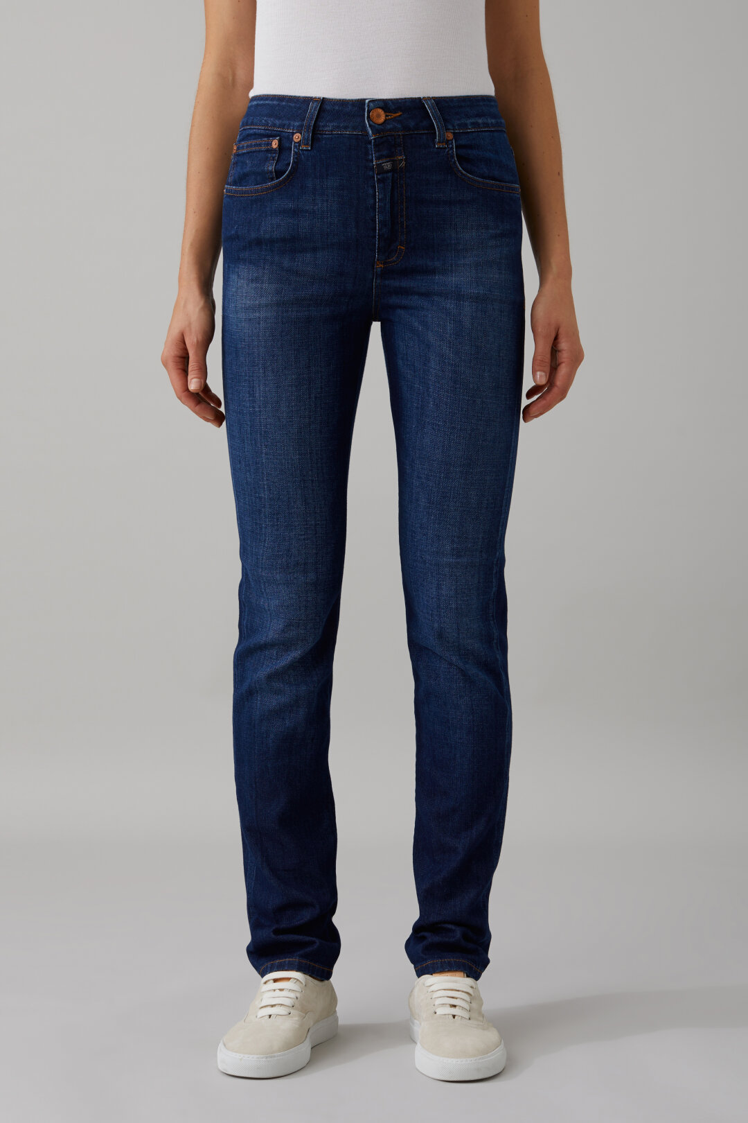 Britney Left Hand Blue Stretch Denim