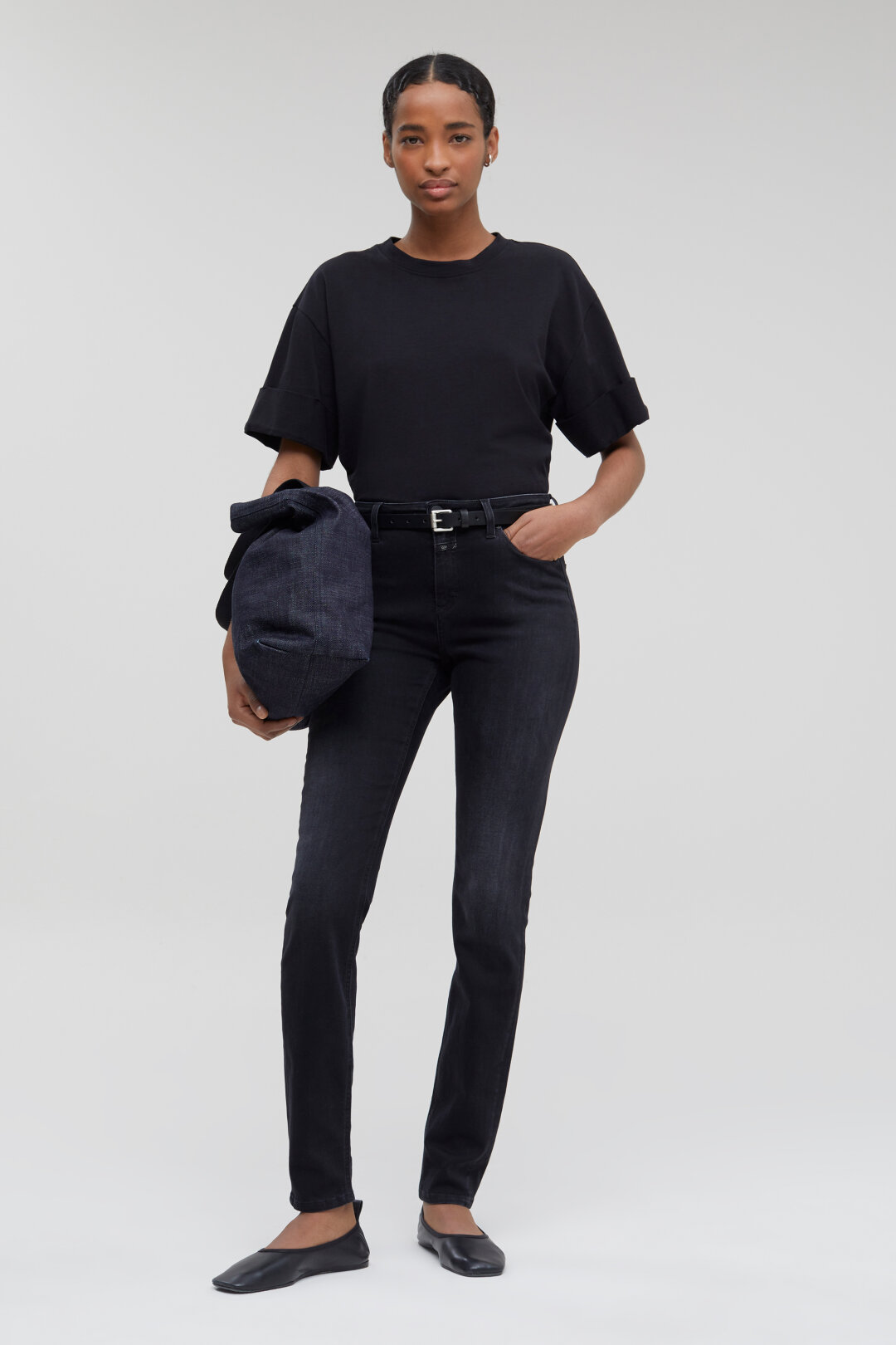 Lizzy Power Stretch Black Denim