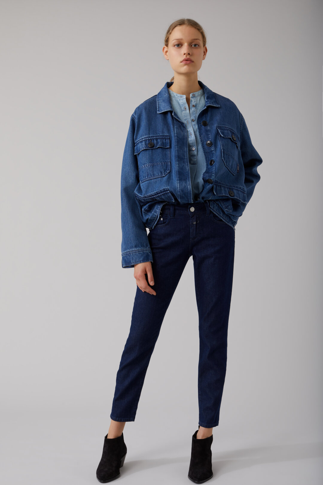 Baker Soft Stretch Blue Denim