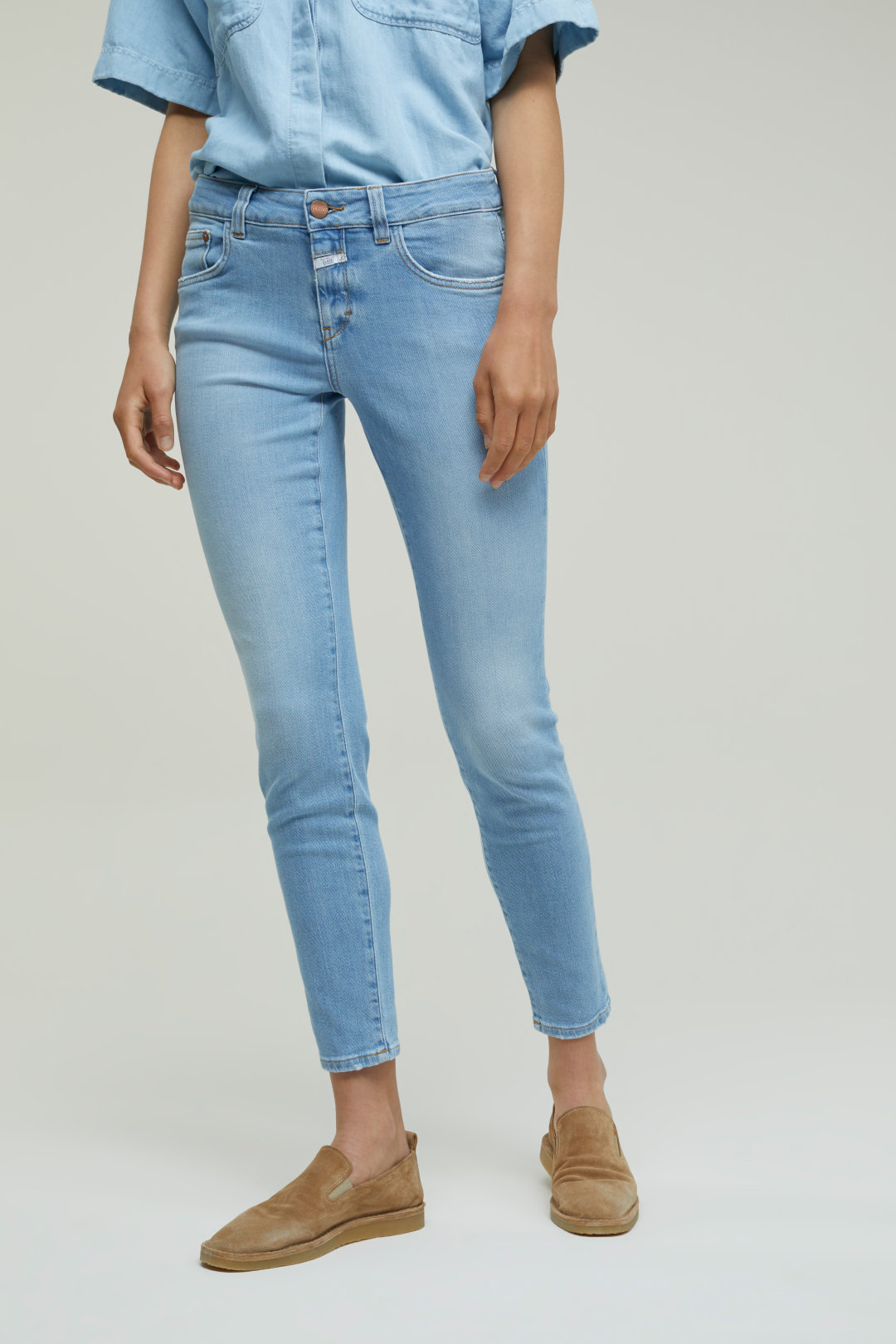 Baker Blue Super Stretch Denim