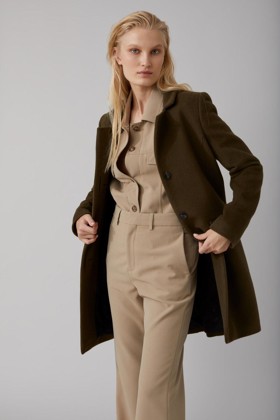 Virgin Wool & Cashmere Pori Coat
