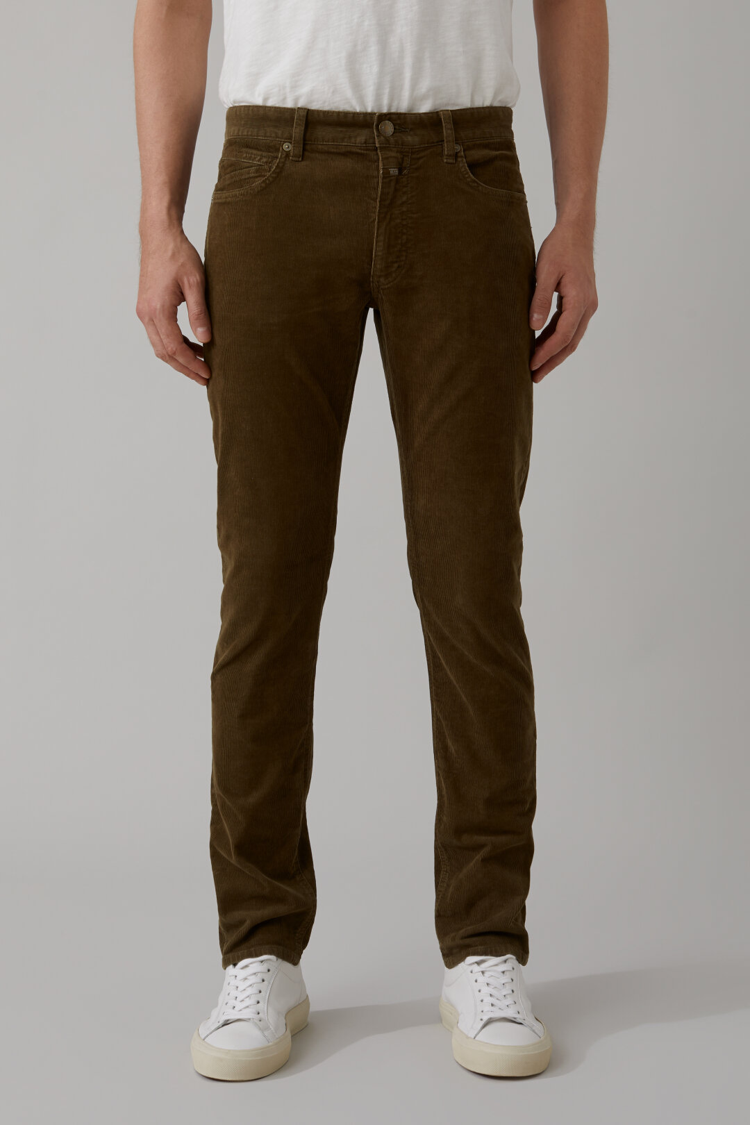 Unity Slim Pantalon velours