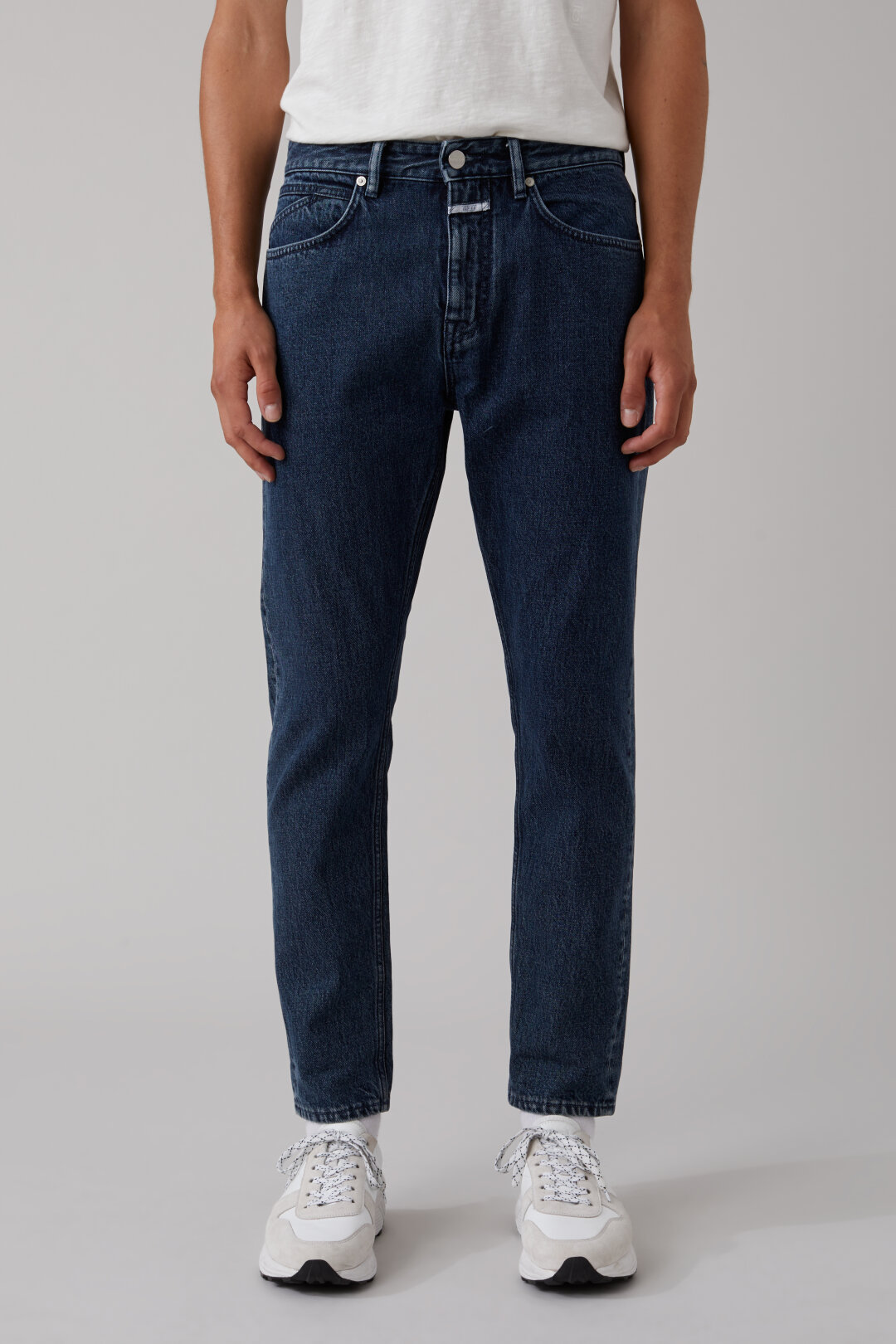 Cooper Tapered Relaxed Fit Blue Denim