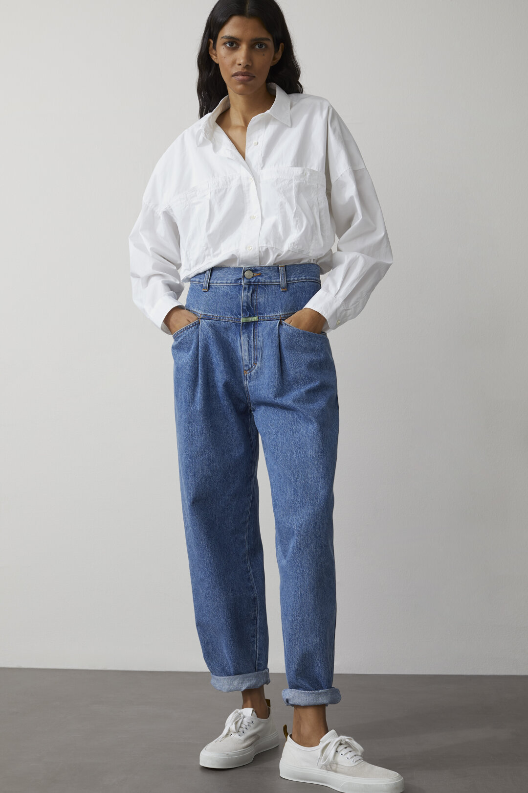 Closed Cropped jeans Damen Denim Blue Mbl Kleidung 78 jeans
