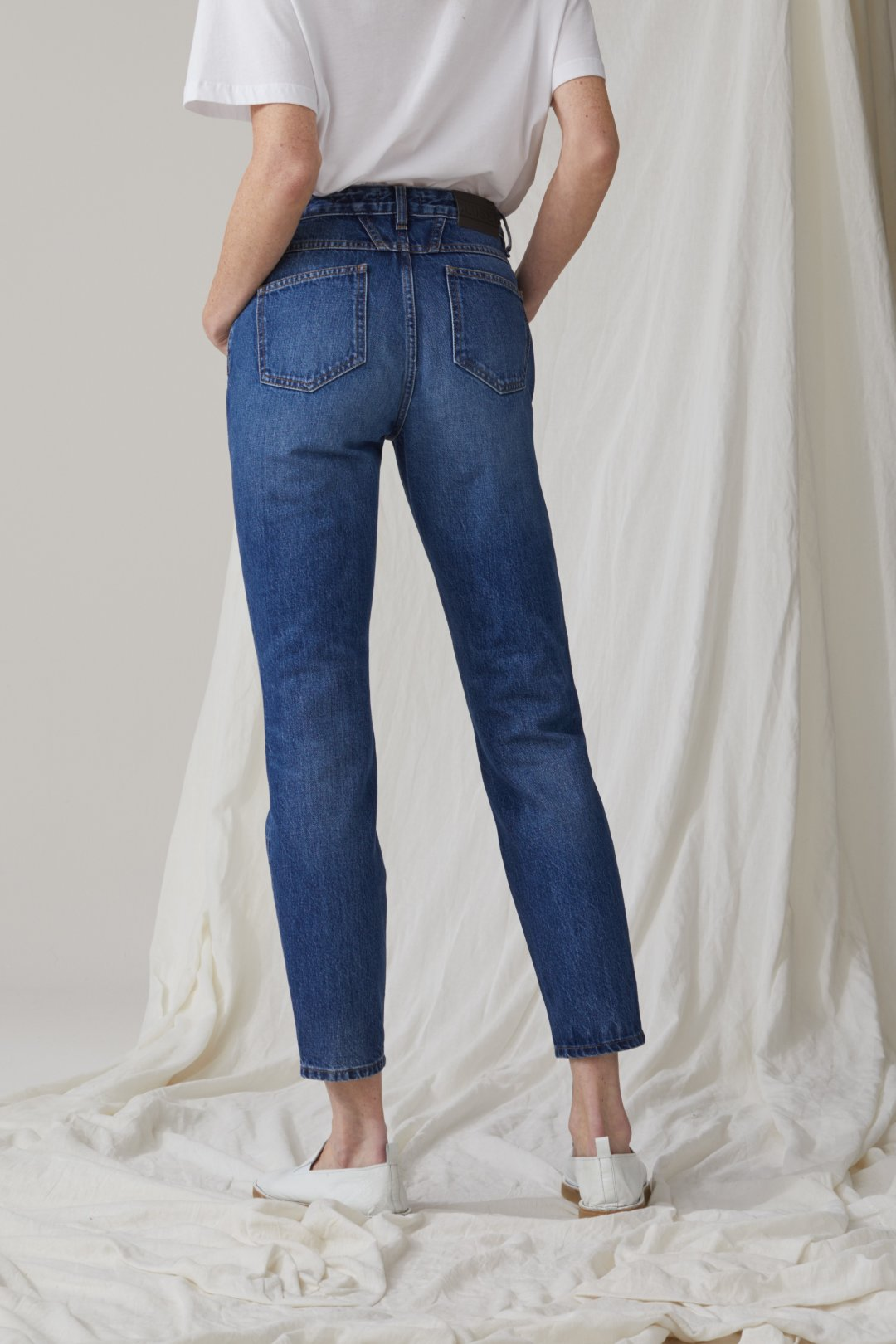 Baker High Indigo Denim