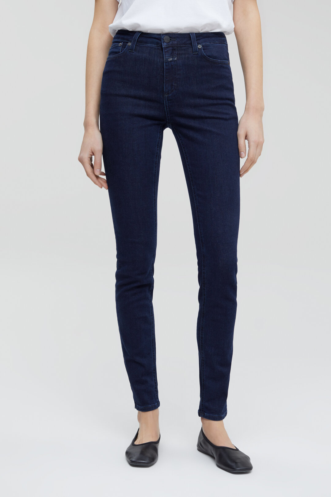 Lizzy Power Stretch Blue Denim