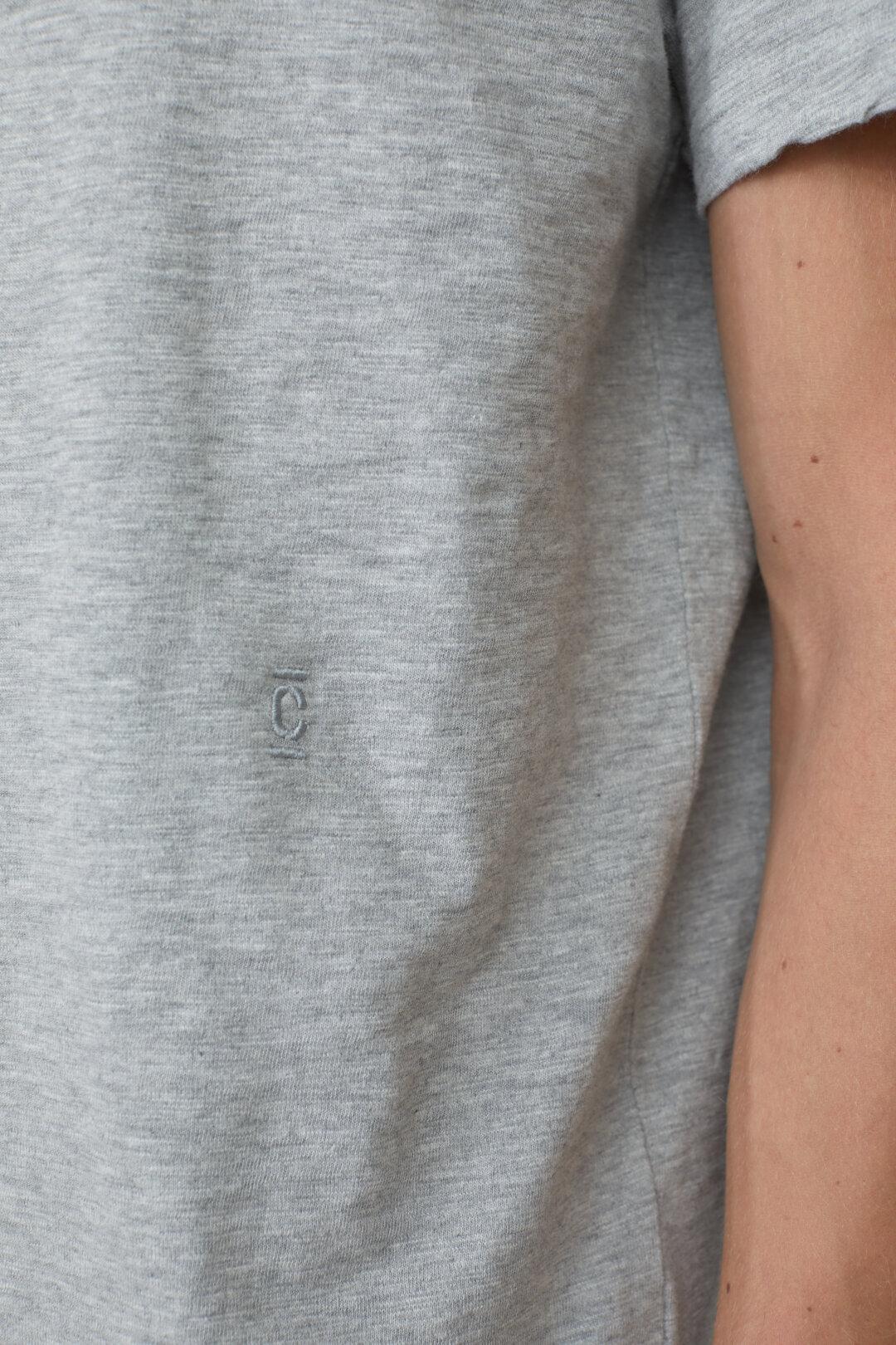 T-Shirt with Logo Stitching