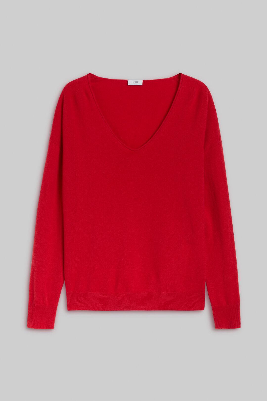 Cashmere V-Pullover