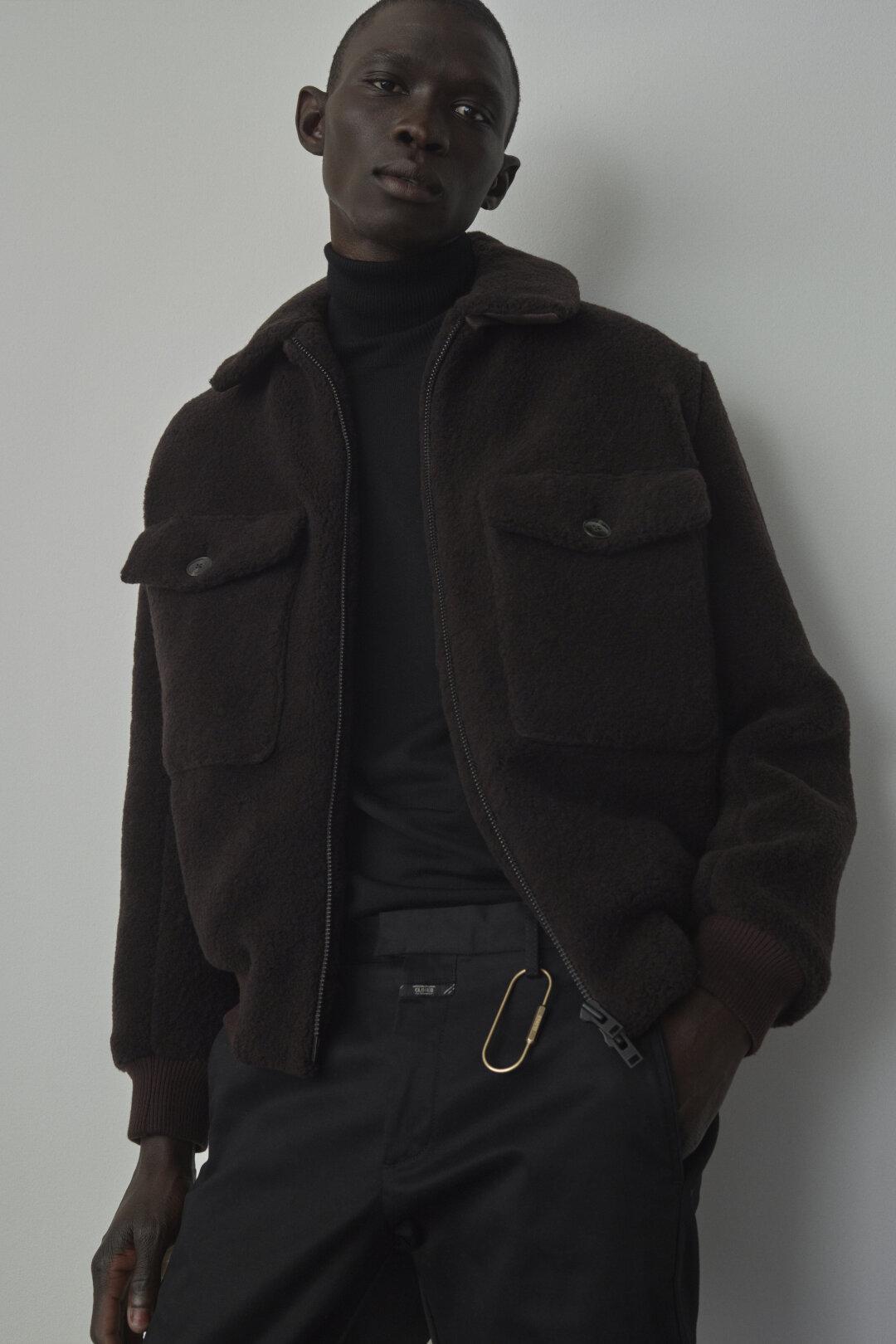 Wool Mix Jacket