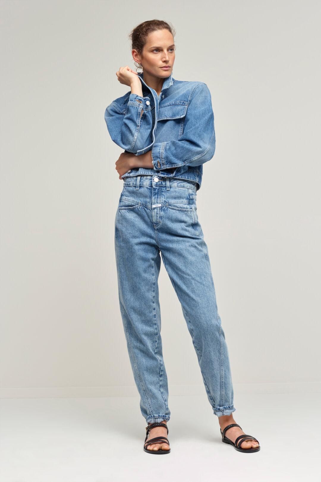 Jeans Batik Noir 1,45 m Largeur